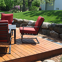 Click for info on preparing exterior wood for staining